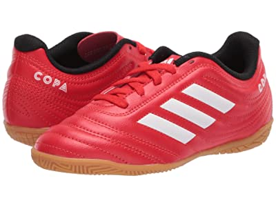 adidas Kids Copa 20.4 IN J Soccer (Little Kid/Big Kid) (Active Red/White/Black) Kids Shoes
