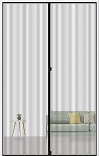 MAGZO Magnetic Screen Door 28 x 72, Reinforced Fiberglass Mesh Curtain Patio Door Mesh..