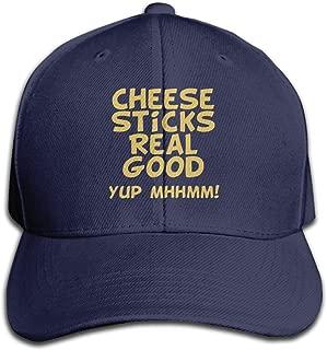 Cheese Sticks Real Good Mens&womens Classic Style Comfortable Sport Cap Baseball Cap