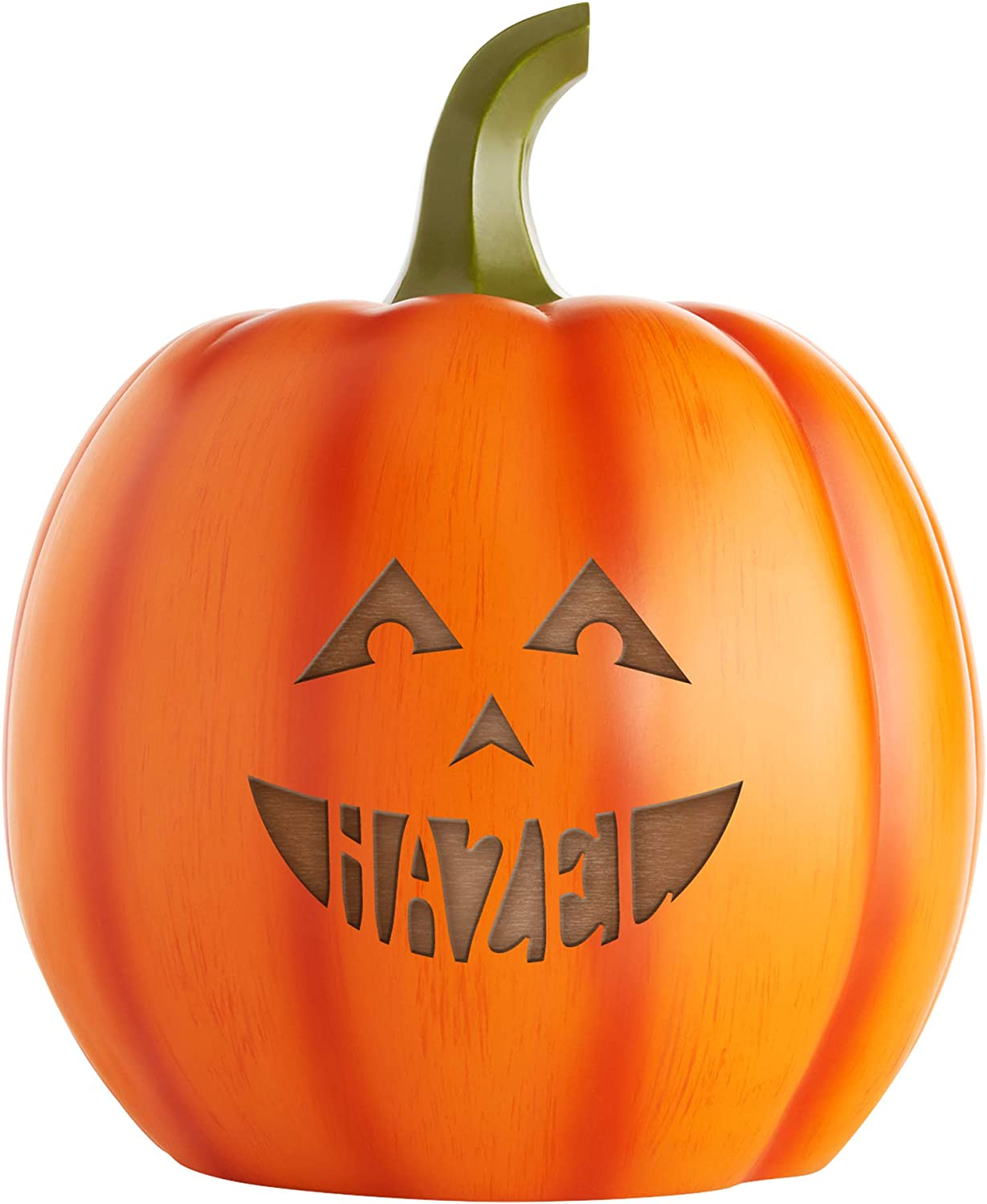 Let's Make Tulsa Mall Memories Personalized Pumpkin Decoration - Super Special SALE held Halloween