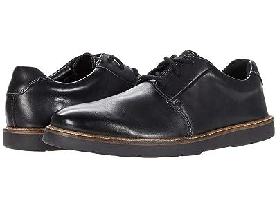 Clarks Grandin Plain (Black Smooth Leather) Men