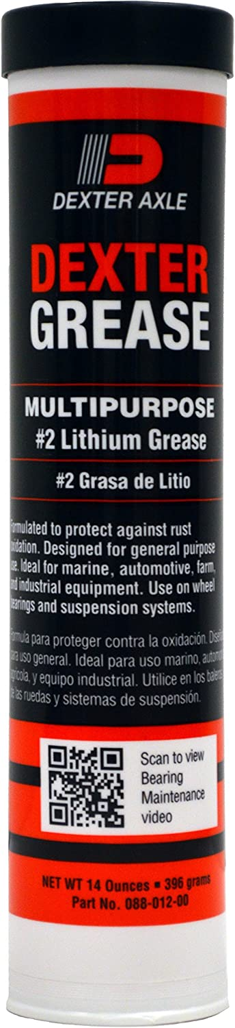 Dexter 088-012-10 Free shipping on posting reviews Multipurpose #2 Lithium 10 Grease 14 oz. Pa Seattle Mall