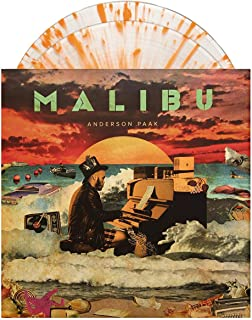 Malibu - Exclusive Limited Edition Clear With Orange Splatter 2X LP Vinyl [Condition-VG+NM]