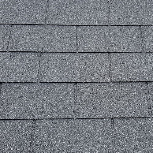 Felt Shingles Slate Grey Square 4 Tab Shed Roofing Tiles