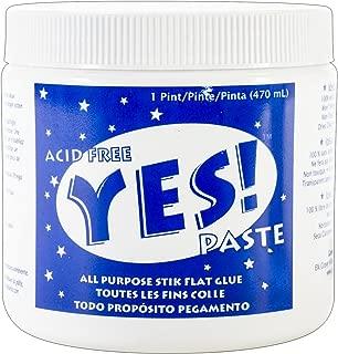 GANE ADH0901 Yes All-Purpose Stik Flat Glue, 1-Pint