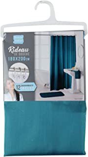 """72/"""" Rideau de douche Set Antique crâne avec livre de salle de bains Tissu Polyester Crochets"""