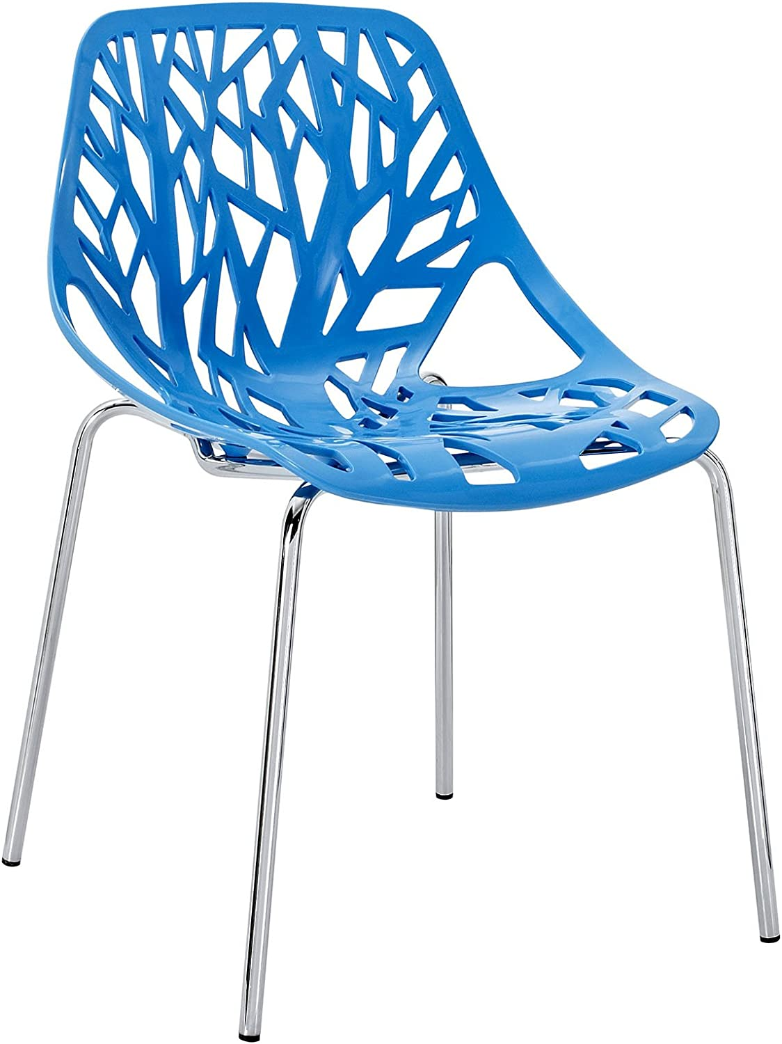 Modway Intricate Orchard Chair, bluee