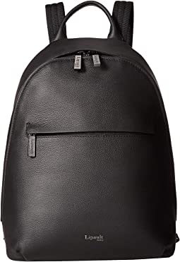 Plume Elegance Round Backpack S