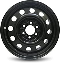 Road Ready Car Wheel For 2003-2017 Lincoln Navigator 2011-2017 Ford Expedition 2004-2019 Ford F150 2006-2008 Lincoln LT 18 Inch 6 Lug Black Steel Rim Fits R18 Tire - Exact OEM Replacement - Full-Size