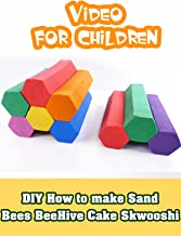 DIY How to make Sand Bees BeeHive Cake Skwooshi