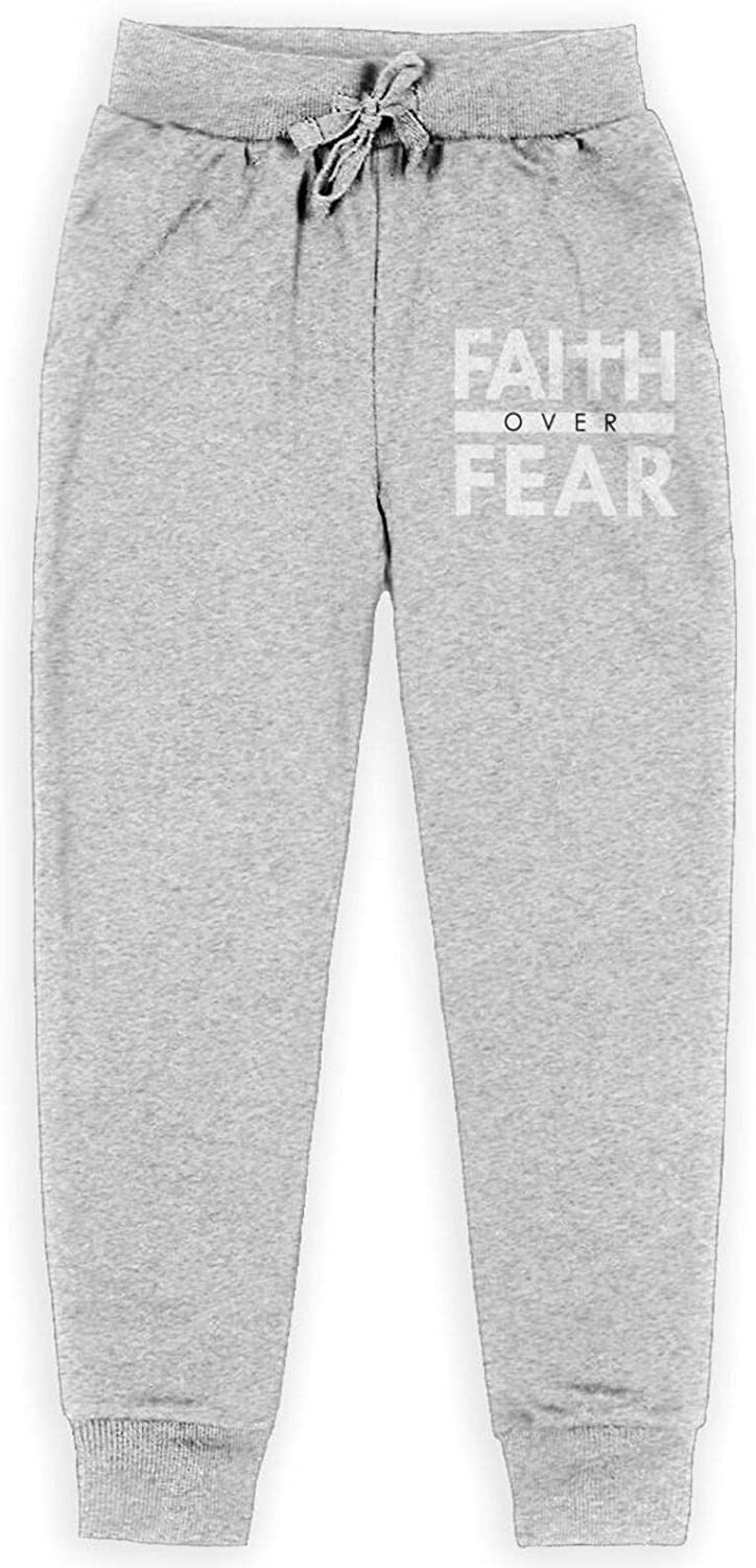 Faith Over Fear Bible Scripture Pants Popular product Christian Verse Children's Selling and selling
