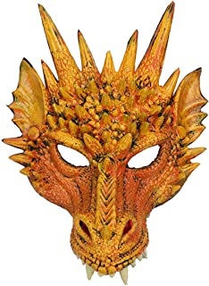Dragon Mask Steampunk Style Scary Horror Devil Animal Masquerade Halloween Costume Cosplay Party mask