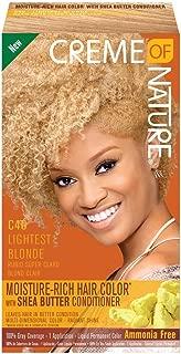 creme of nature ginger blonde