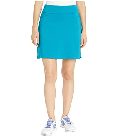 adidas Golf Ultimate Knit 18 Skort (Active Teal) Women