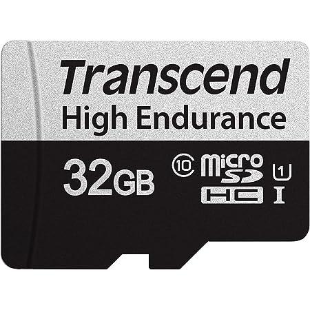 トランセンドジャパン 高耐久 microSDカード 32GB UHS-I U1 Class10 ドライブレコーダー セキュリティカメラ用 SDカード変換アダプタ付 安心の2年保証 TS32GUSD350V-E 【Amazon.co.jp限定】