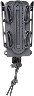 G-CODE (Black) Soft Shell Scorpion -Tall- Pistol Mag Carrier with P1 molle/Stacking Clip 100% Made in The USA (1153-3B)