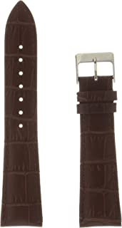 Hadley Roma MSM737RA 180 Black Leather Calfskin Watch Band