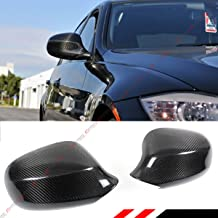 Cuztom Tuning Fits for 2009-2011 BMW E90 LCI 3 Series 325i 328i 335i 4 Door Sedan Carbon Fiber Side View Mirror Cover Cap