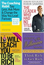 The Coaching Habit, The Leader Who Had No Title, I Will Teach You To Be Rich, Secrets of the Millionaire Mind 4 Books Coll...