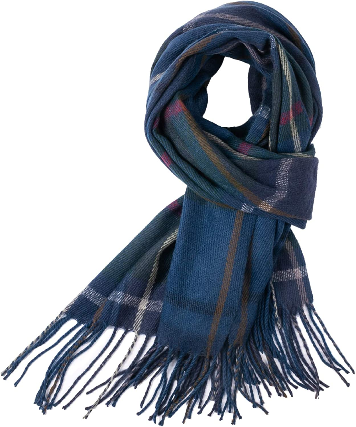 Supxing Women Plaid Checked Charlotte Mall Cashmere Super Feel Winter So Scarf- Inventory cleanup selling sale