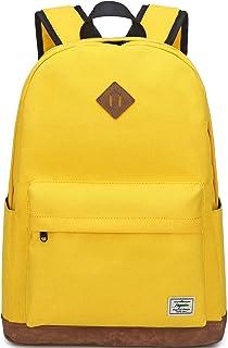 Backpack for Women, Mygreen Water Resistant High School Girls Bookbag Travel Backpack for Teens with Water Bottle Pockets ...