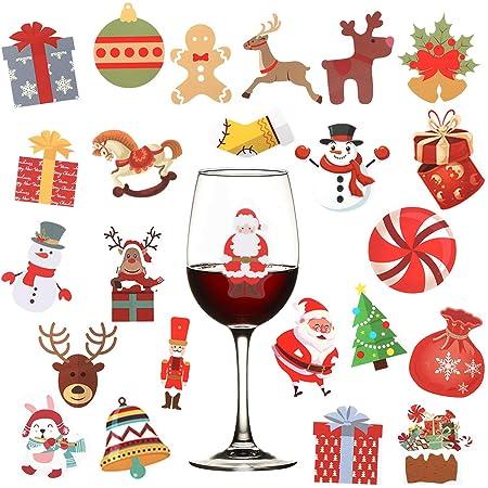 Christmas Decals XMas Party Favors Cup Decals Envelope Labels Set of Christmas Vinyl Decals Jingle Bells Vinyl Decals Bells