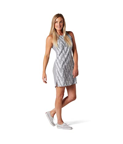 Smartwool Merino Sport Tank Dress (Barely Blue Zigzag Print) Women