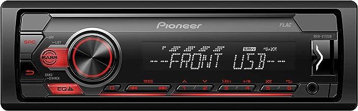 Pioneer MVH-S110UB Autoradio, Negro