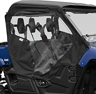 2014-2019 Genuine Yamaha Viking EPS Soft Side Door Covers - Black - 1XDF17J0V000