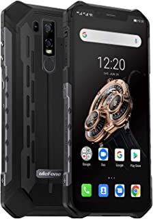 Rugged Phones Ulefone Armor 6S Waterproof Unlocked Phones Android 9.0 6.2
