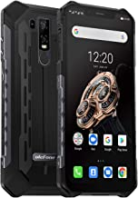 Cellulare Antiurto, Ulefone Armor 6S 4G Rugged Smartphone Android 9.0, Helio P70 6GB+128GB, Cellulare Impermeabile 6.2 Pollici 19:9 FHD+, 16MP+8MP+8MP, 5000mAh Ricarica Wireless, NFC/OTG/GPS-Nero