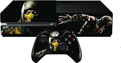 Mortal Kombat X Limited Edition Premium Designer Skin for Xbox One + 2 Free Controller Skins