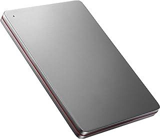 I-O DATA 外付けHDD ハードディスク 2TB ポータブル カクうす アルミボディ 超薄型 日本製 HDPX-UTS2K