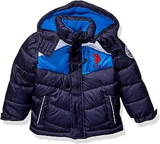 US Polo Association Boys' Little Bubble Jacket, Color...
