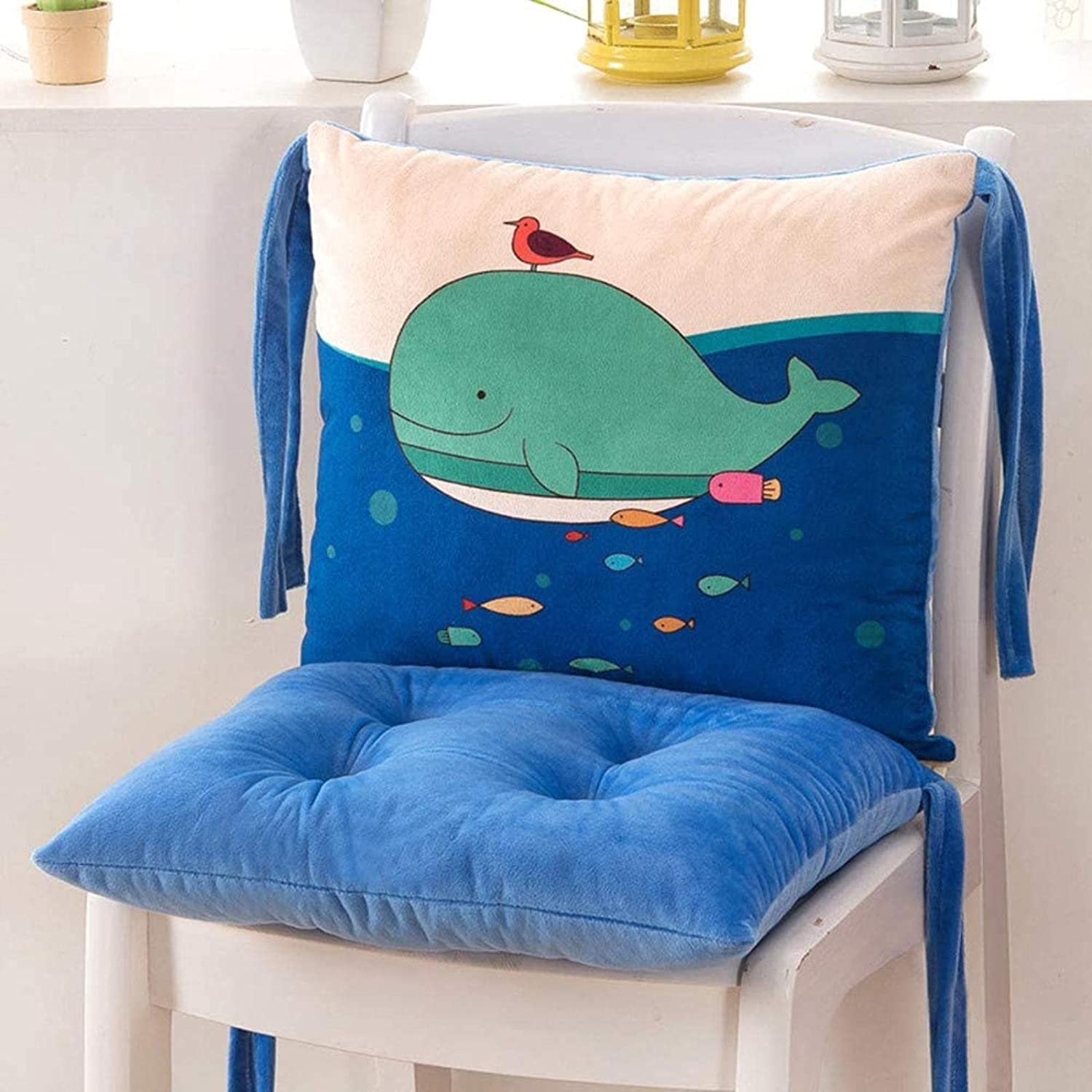 HZYDD Soft Plush New York Mall Chair Phoenix Mall Cushion Th One-Piece with Straps