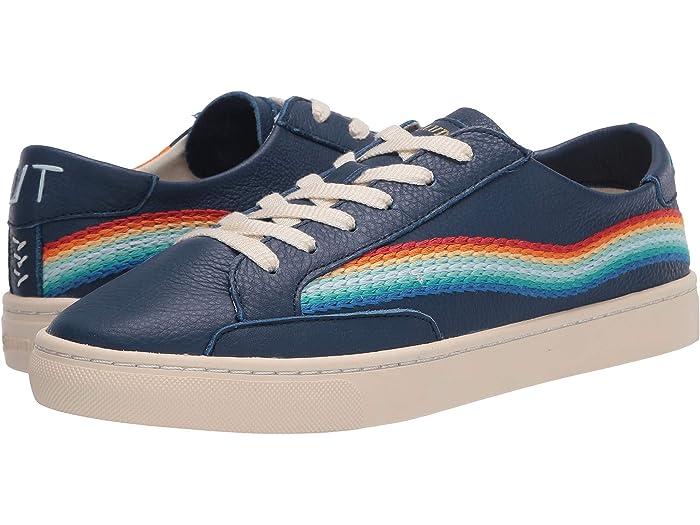 Soludos Rainbow Wave Sneaker | Zappos.com