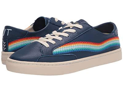 Soludos Rainbow Wave Sneaker (Marine Blue) Women