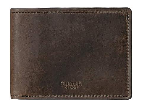 Shinola Detroit Navigator Slim Bifold 2.0