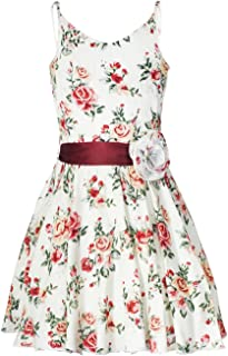 Naughty Ninos Girls' Pleated Knee-Long Dress