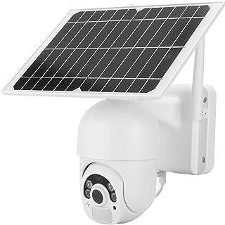 Wifi CCTV Camera, Remote Camera Waterproof 2MP Solar Camera Two‑way Audio Security Camera for Farmland Fish Ponds for Home...
