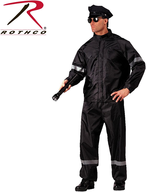 redhco HiVis 2 Piece Rain Suit w  Reflective Tap