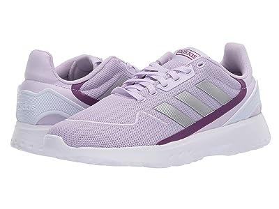 adidas Kids Nebzed (Little Kid/Big Kid) (Purple Tint/Matte Silver/Glory Purple) Kid