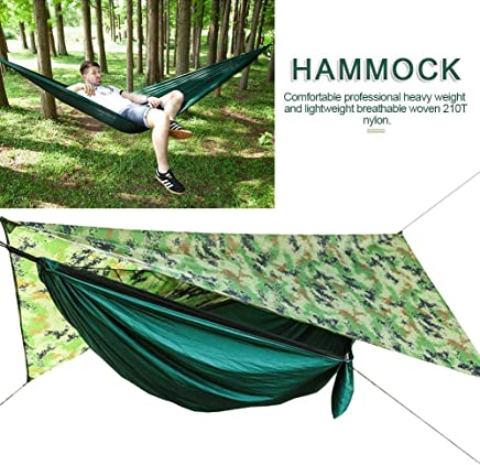 Moskitonetz-H/ängematten-Set Camping Automatic Open Hammock mit Moskito Outside Waterproof Sunshade