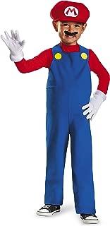 Nintendo Super Mario Brothers Mario Boys Toddler Costume, Small/2T