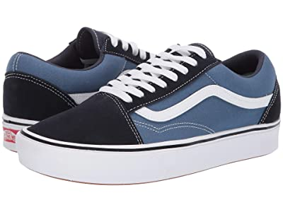 Vans Comfycush Old Skool ((Classic) Navy/STV Navy) Athletic Shoes