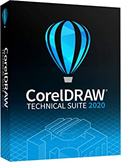 CorelDRAW Technical Suite 2020 | Technical Illustration & Drafting Software [PC Disc]