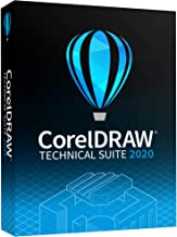 Corel CorelDRAW Technical Suite 2020 | Technical Illustration & Drafting Software [PC Disc]