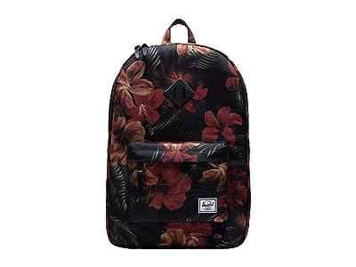 Herschel Supply Co. Heritage (Tropical Hibiscus) Backpack Bags