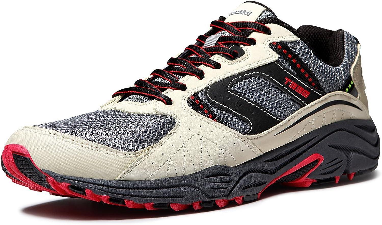 TF-T330-CMR_Men 10 D(M) Tesla Men's Outdoor Sneakers Trail Running shoes T330