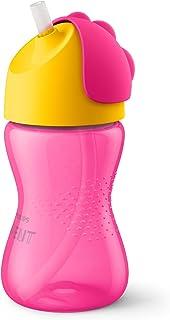 Copo Dinossauro 300 ml, Philips Avent, Rosa / Amarelo